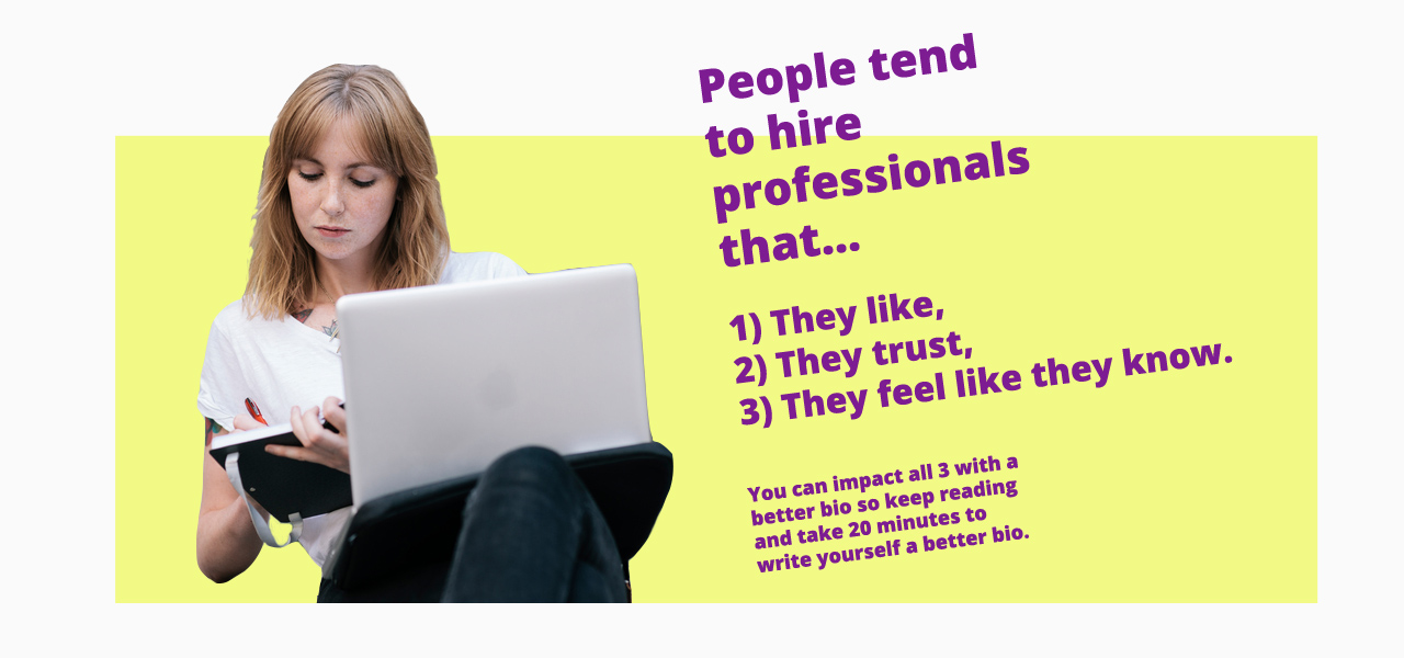 Best tips for writing an online professional bio
