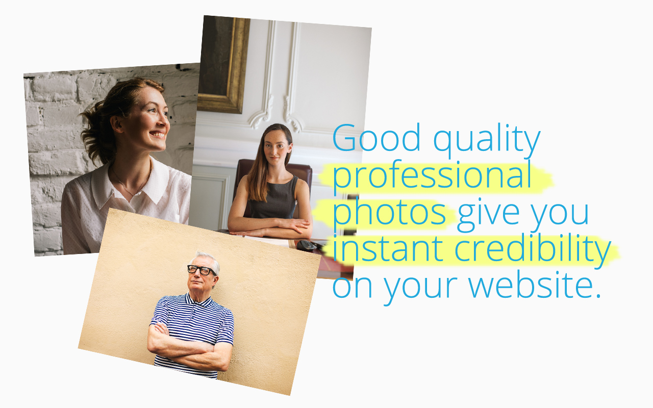 Great photography can add to your small business credibility