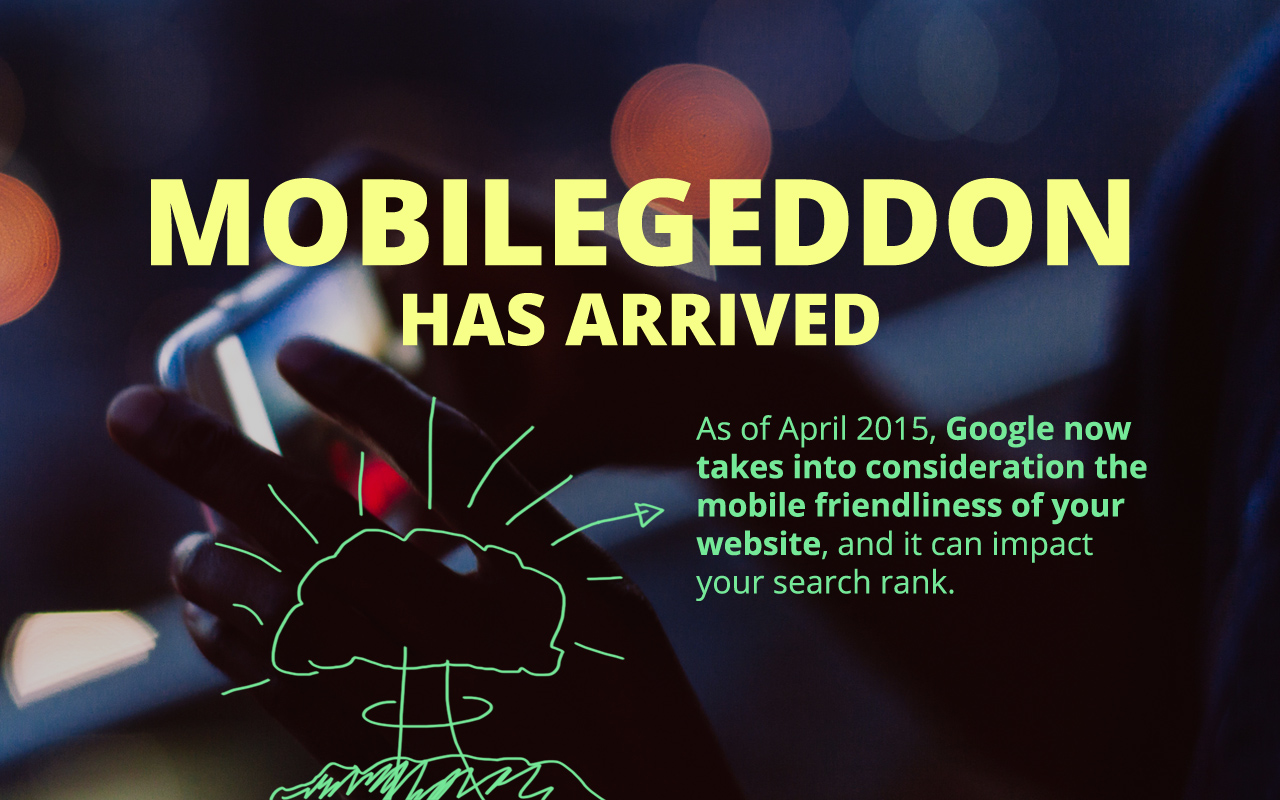 Make sure your website is mobile friendly for your SEO