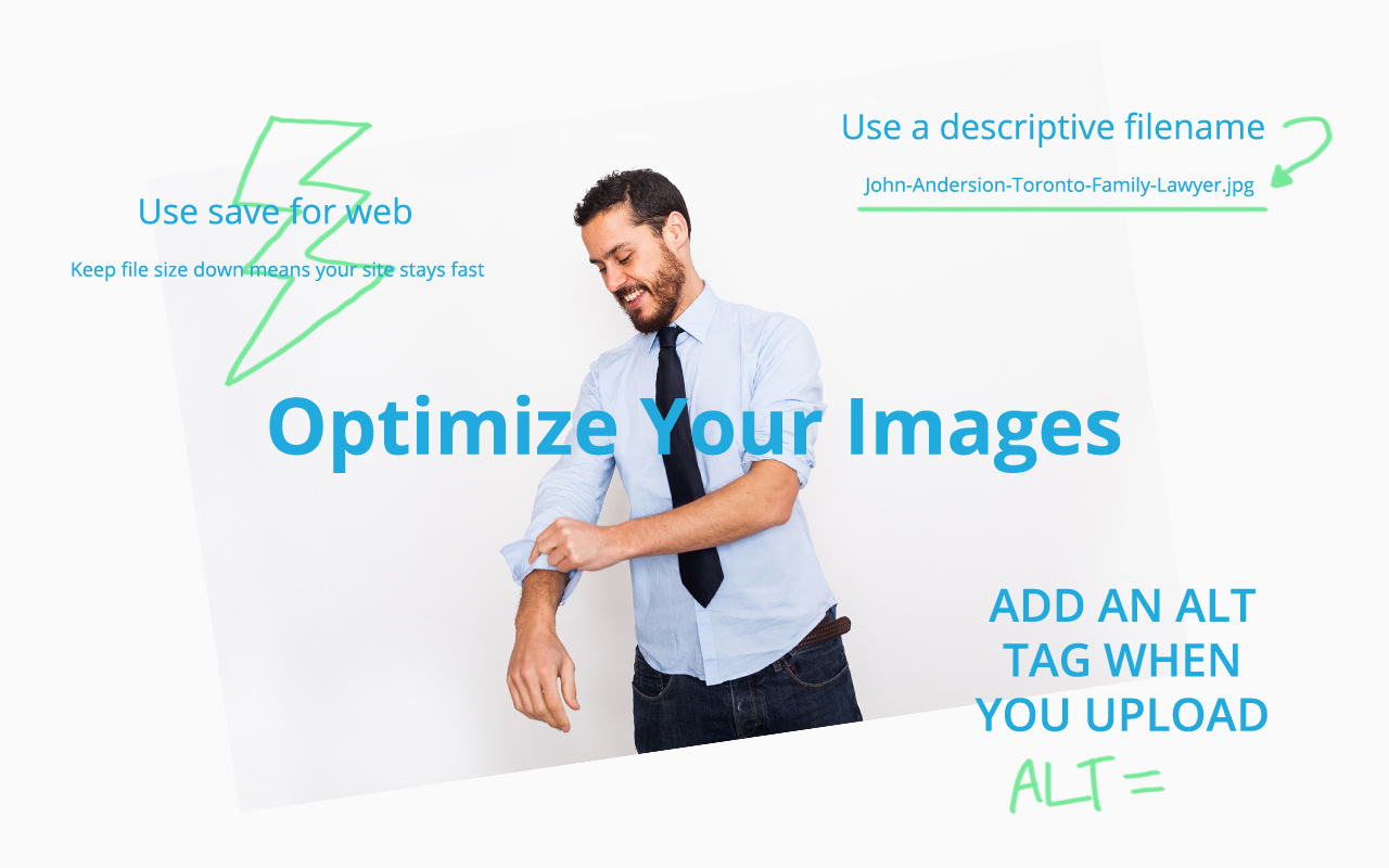 Optimize your photographs for SEO
