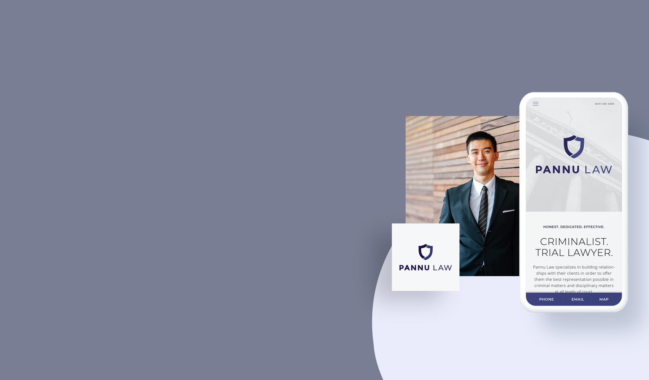 best logo design for lawyers lockup of mobile website and custom logo