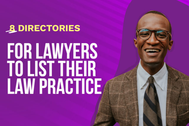 8 Directories for Lawyers to List Their Law Practice